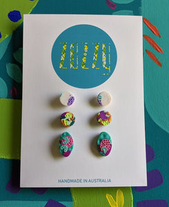 Polymer Clay Studs Multi-Pack