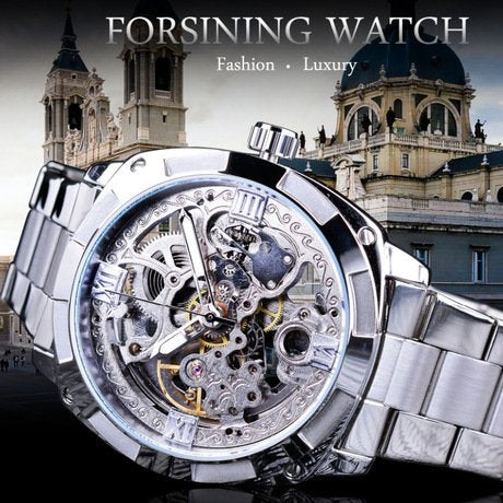 Waterproof Steel Strip Men's Watch