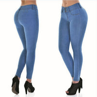 Cross Special For Amazon Small Pants Skinny Sexy Tight Jeans Big Pants.