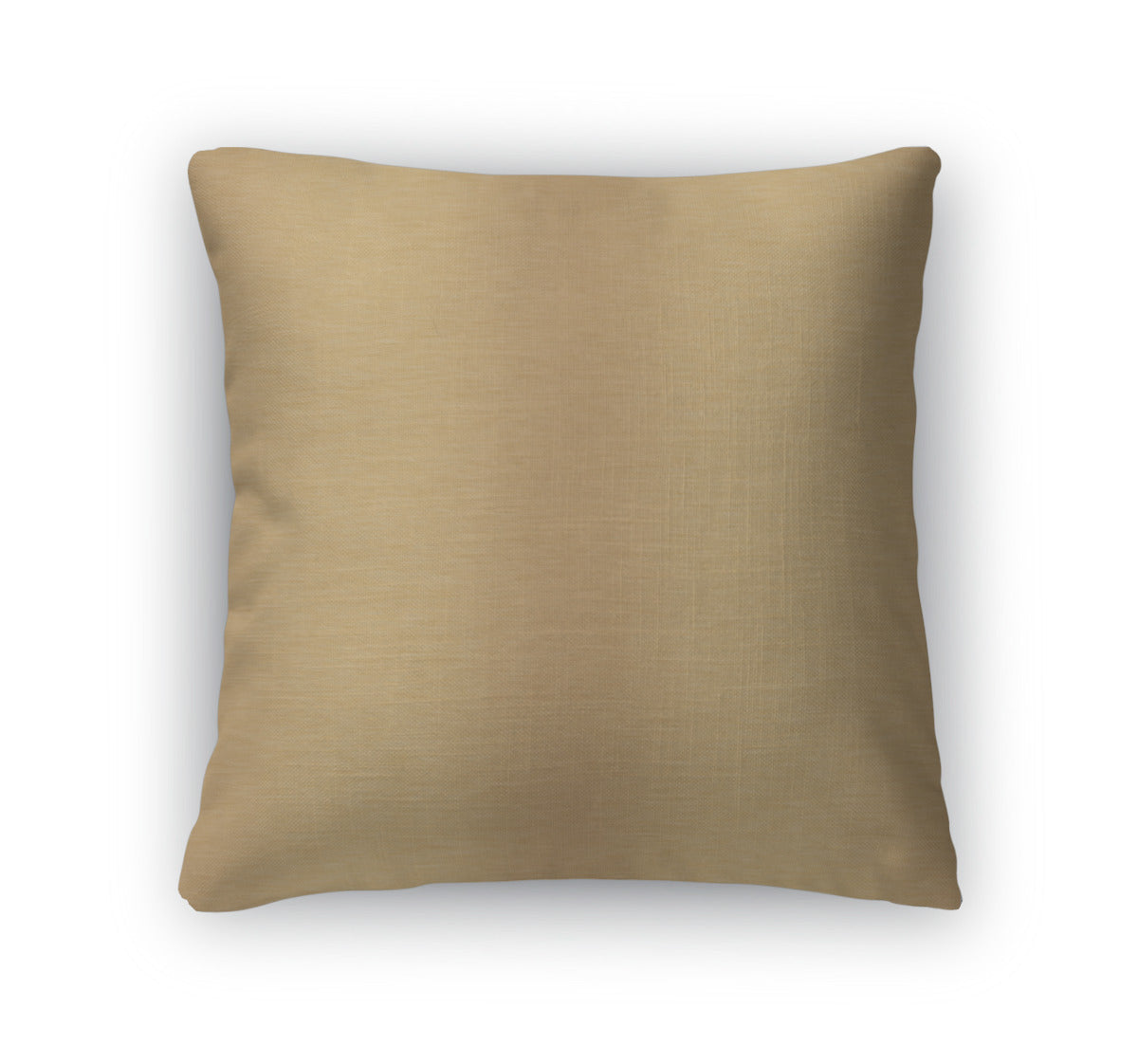 Throw Pillow, Brushed Gold