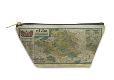Accessory Pouch, Poland Old Map 1770 - fashionbests