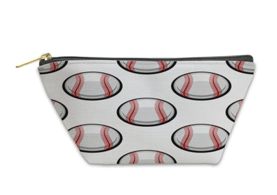 Accessory Pouch, Pattern Of Baseball Balls