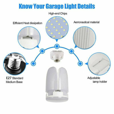 E27 LED Garage Light Bulb - fashionbests