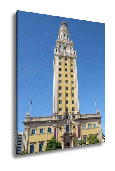 Gallery Wrapped Canvas, Freedom Tower In Miami Florida - fashionbests