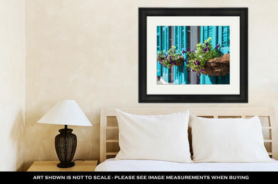 Framed Print, New Orleans Flowers - fashionbests