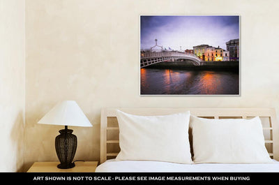 Gallery Wrapped Canvas, Hapenny Bridge Dublin - fashionbests