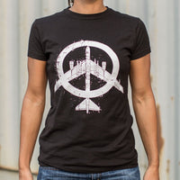 Peace Bomber T-Shirt (Ladies)