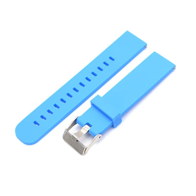 Silicone strap 18mm 20mm 22mm watch accessories sports watch with silicone strap fitness Samsung Huawei motorcycle smart strap w - fashionbests