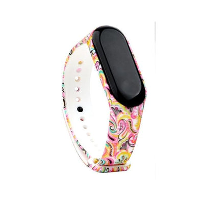 40 Colorful Soft Silicone Strap Watchband for Xiaomi Mi band 4 band 3 Smart Watch Flower Printed Wrist Band Bracelet Accessories - fashionbests