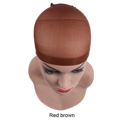 2 Pieces/Pack Wig Cap Hair net for Weave  Hairnets Wig Nets Stretch Mesh Wig Cap for Making Wigs Free Size - fashionbests