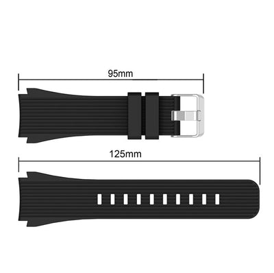 Sport Soft Silicone bracelet Wrist Band for Samsung Galaxy Watch 46mm SM-R800 Replacement Smart watch Strap