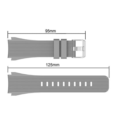 Sport Soft Silicone bracelet Wrist Band for Samsung Galaxy Watch 46mm SM-R800 Replacement Smart watch Strap - fashionbests