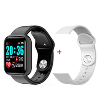 Electronic digital watches For Men Women Blood Pressure Heart Rate Waterproof Tracker Sport Clock Watch Smart For Android IOS - fashionbests