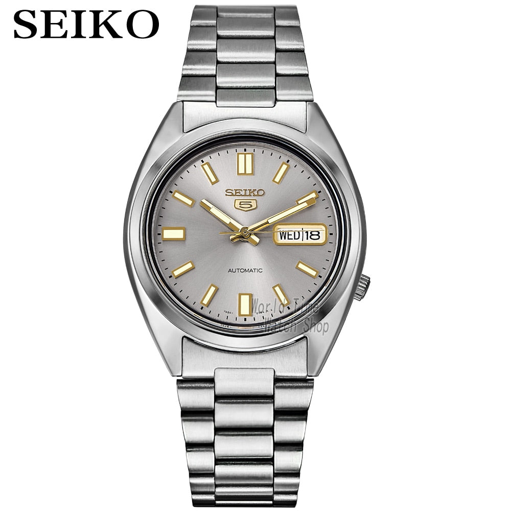 seiko watchfor men 5 automatic watch , luxury Sport men watch set waterproof mechanical military watch relogio masculinoSNX
