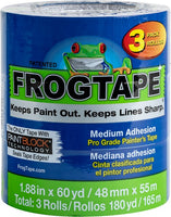 "Blue FrogTape Pro Grade Painter's Tape 3pk  (1.88"" x 60yd)"