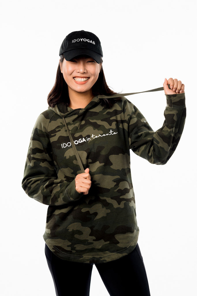 IDOYOGA IN TORONTO UNISEX HOODIE - Camo - Limited Edition