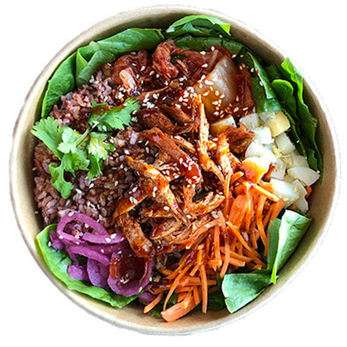 Chicken Bibimbap Bowl - Juju Eats