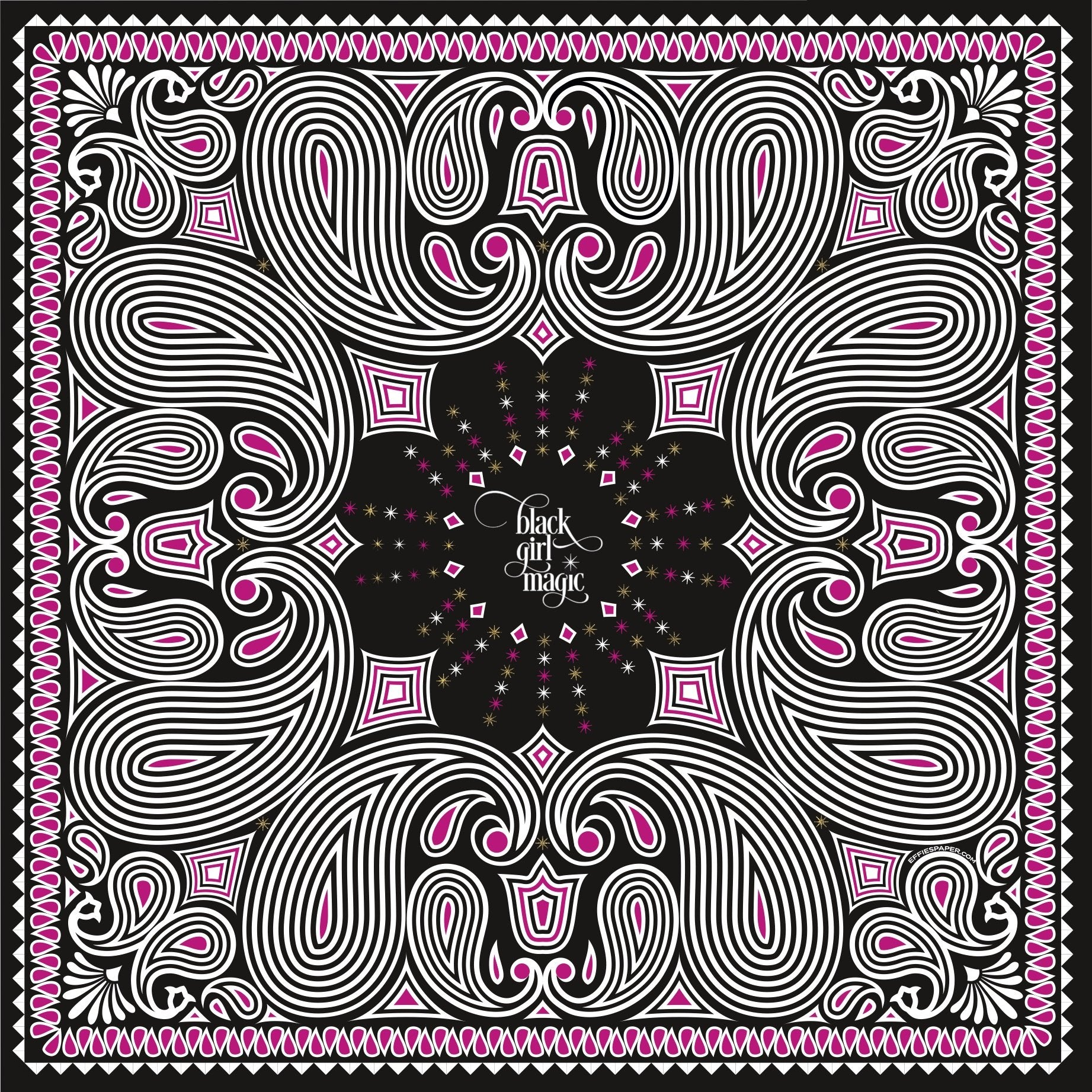 Black Girl Magic :: Bandana/Scarf - [BDP Apparel]
