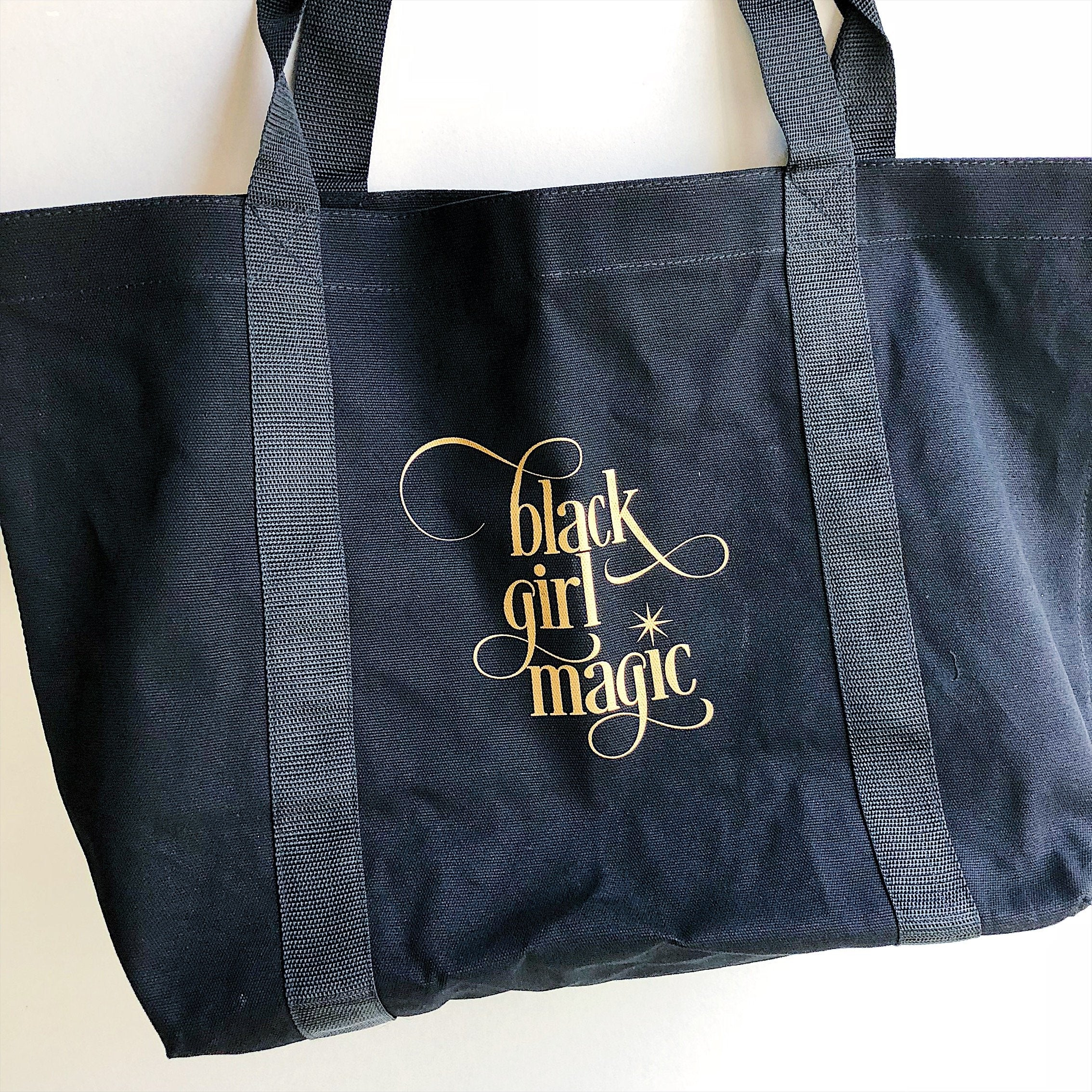 Black Girl Magic :: Totebag - [BDP Apparel]
