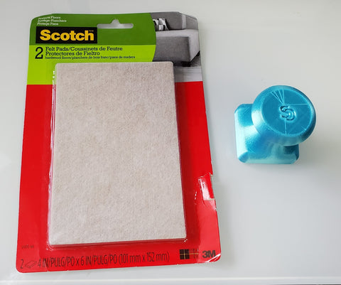 foam pad with stencil stop