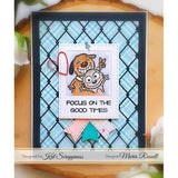 Wood Grain Framed Diamond Wire Die by Kat Scrappiness - Kat Scrappiness