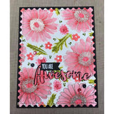 Stitched Postage Stamp Edge Rectangle Dies by Kat Scrappiness