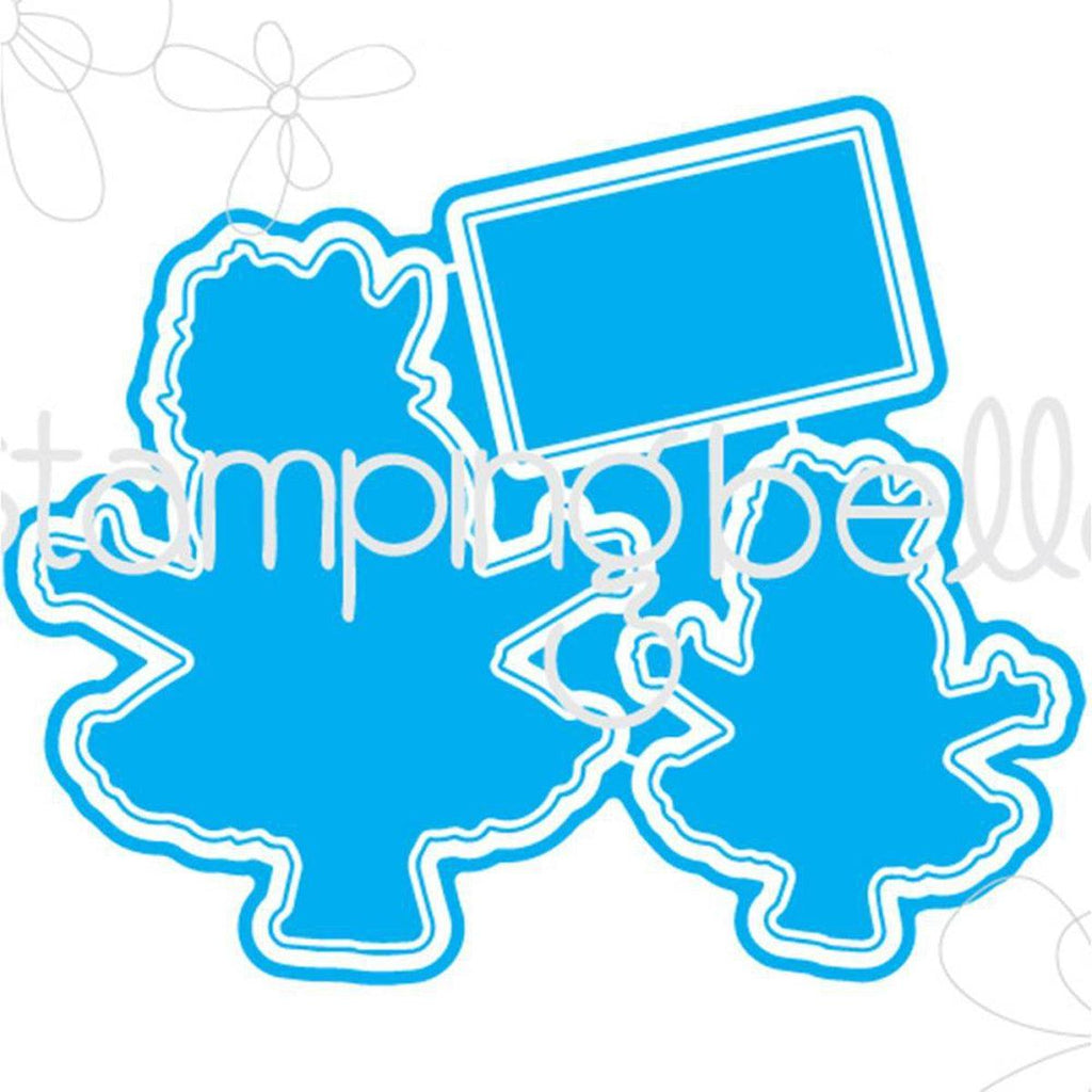 Smoochie Squidgy Craft Die by Stamping Bella