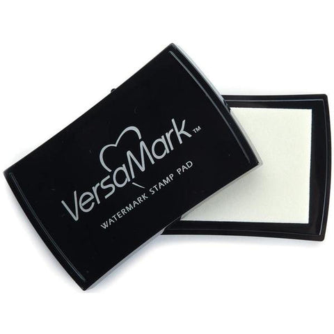 Tsukineko Full-Size VersaMark Clear Embossing Ink Pad - Kat Scrappiness
