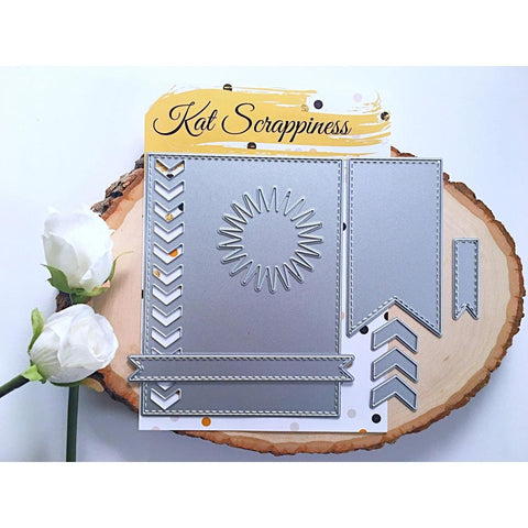 Crafters Essentials II Dies by Kat Scrappiness - Kat Scrappiness