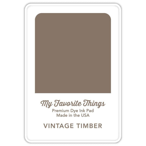 My Favorite Things Premium Dye Ink Pad - Vintage Timber