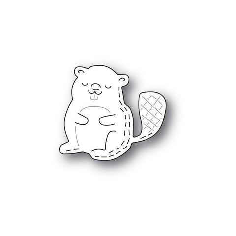Whittle Beaver Craft Die by Poppy Stamps