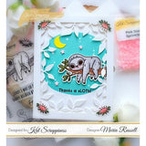 """Stewart the Sloth"" Stamp Set by Kat Scrappiness - Kat Scrappiness"