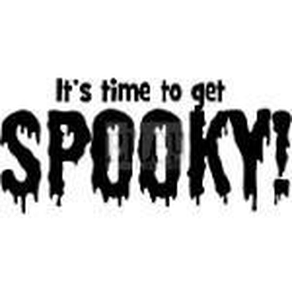Time to Get Spooky Cling Stamp by Riley & Co