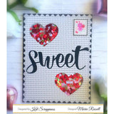 Sweet Word & Sentiment Die by Kat Scrappiness