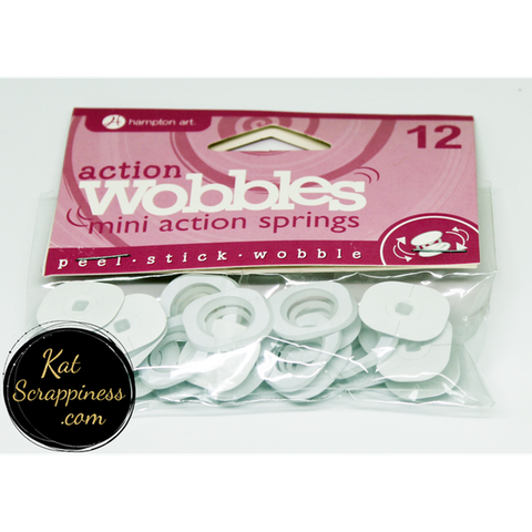 MINI Action Wobble Spring 12/pkg - NEW! - Kat Scrappiness