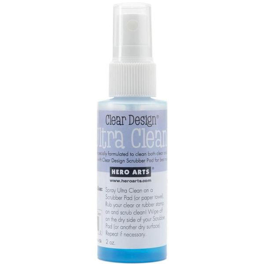 Hero Arts Ultra Clean Spray Stamp Cleaner 2oz - Kat Scrappiness