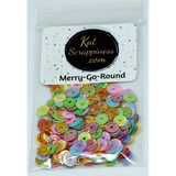 Merry-Go-Round Sequin Mix - Shaker Card Fillers - NEW! - Kat Scrappiness