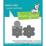 Reveal Wheel Snowflake Add-On Dies by Lawn Fawn
