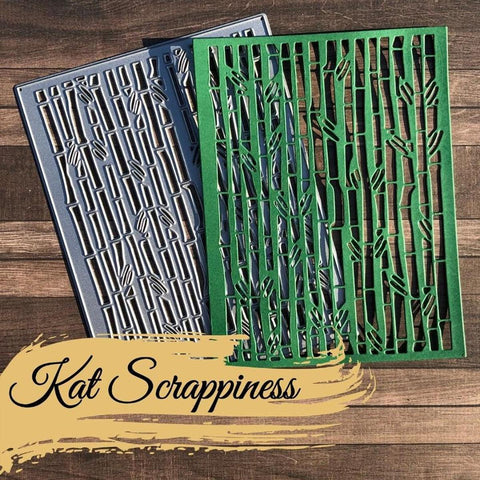 Bamboo Backdrop Die by Kat Scrappiness - Kat Scrappiness