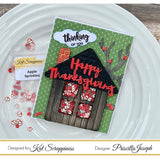 House with Chimney Shaker Card Kit by Kat Scrappiness - 069