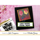 """Wine Not"" Custom Craft Dies by Kat Scrappiness - Kat Scrappiness"