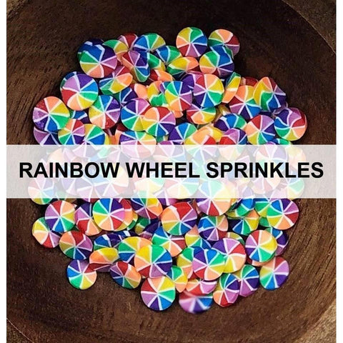 Rainbow Wheel Sprinkles by Kat Scrappiness - Kat Scrappiness