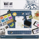 Wendy Vecchi MAKE ART Stay-tion All-In-One Magnetic Surface - Kat Scrappiness
