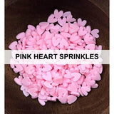 Pink Heart Sprinkles (Small) by Kat Scrappiness - Kat Scrappiness