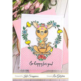 """Hoppy For You"" Stamp Set by Kat Scrappiness"