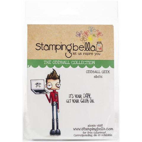 Oddball Geek Cling Stamps by Stamping Bella - Kat Scrappiness