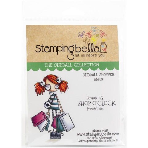 Oddball Shopper Cling Stamps by Stamping Bella - Kat Scrappiness