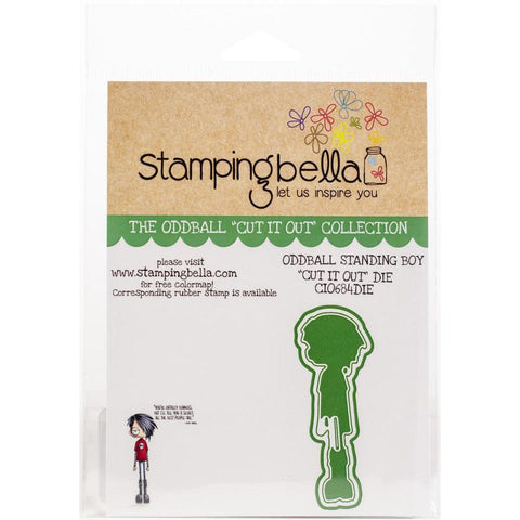 Oddball Standing Boy Coordinating Dies by Stamping Bella