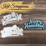 Happy Hanukkah w/Shadow Die by Kat Scrappiness - Kat Scrappiness