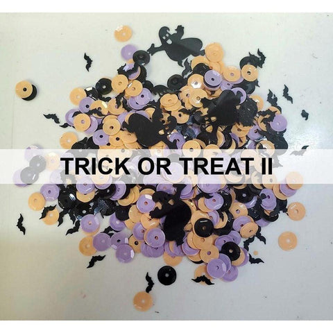 Trick or Treat II - Halloween Sequin Mix - Kat Scrappiness